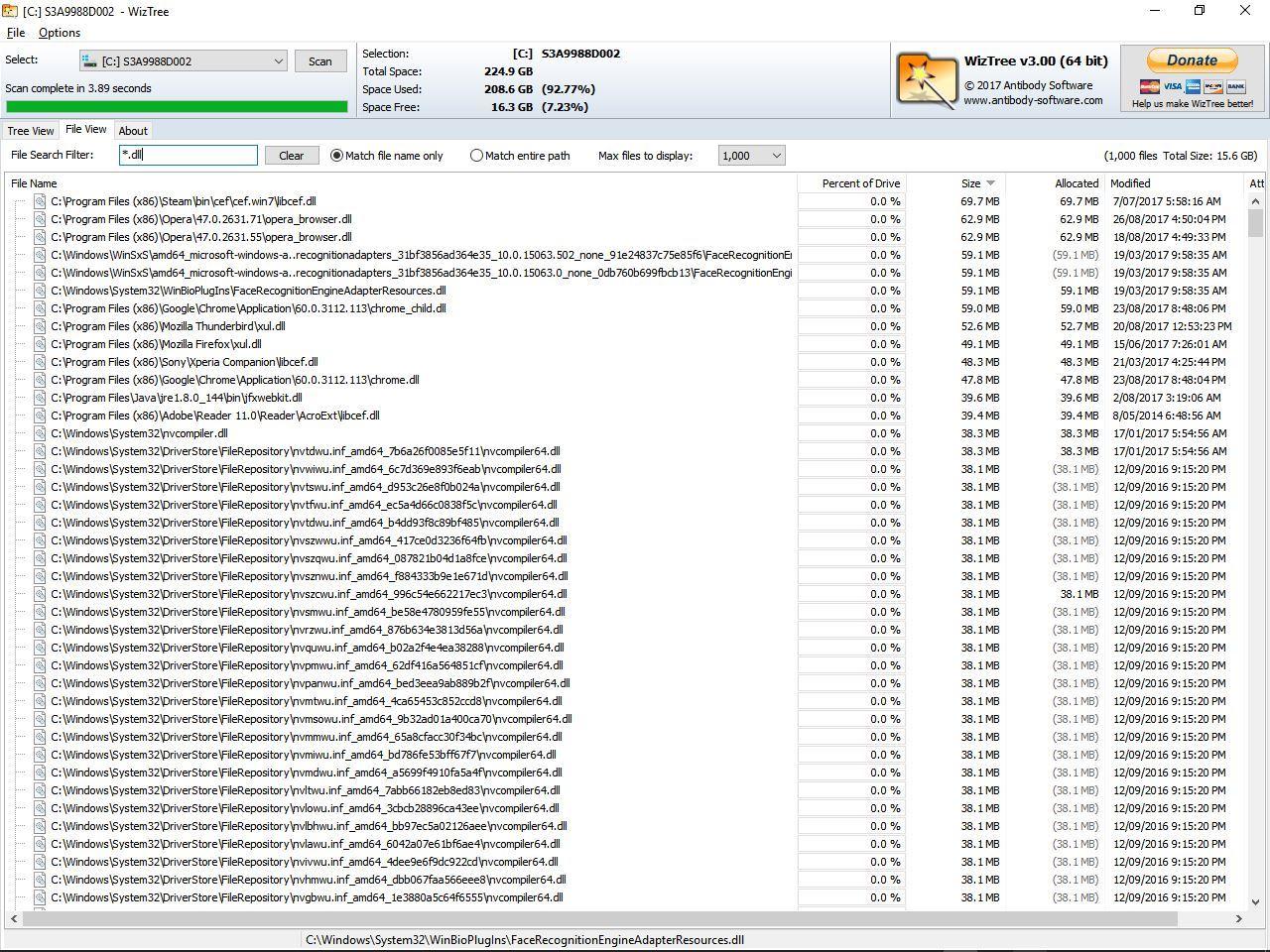 Hidden file finder rus скачать